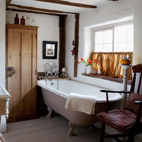 vintage country bathroom bathroom decorating ideas cream country bathroom with dark floor decorating