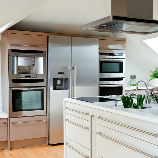 Modern Kitchen Microwave: Take A Tour Around A Bright And