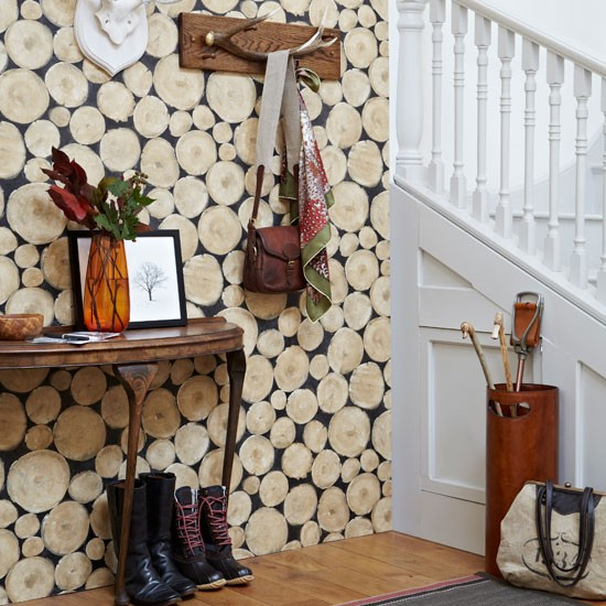 Create a rustic hall | Country hallway ideas | housetohome.
