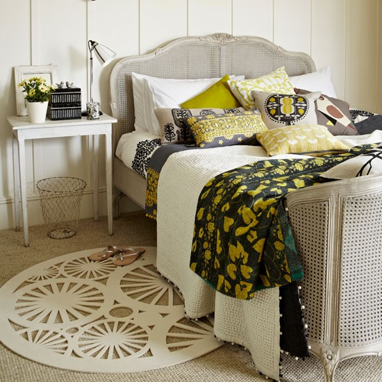 Update a cane bed | Country bedroom ideas - 10 of the best | Bedroom | PHOTO GALLERY | Country Homes and Interiors | Housetohome