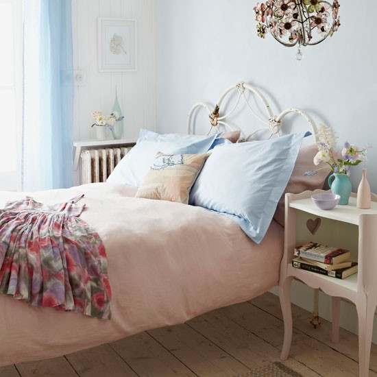Sleep in a shabby chic bed | Country bedroom ideas - 10 of the best | Bedroom | PHOTO GALLERY | Country Homes and Interiors | Housetohome