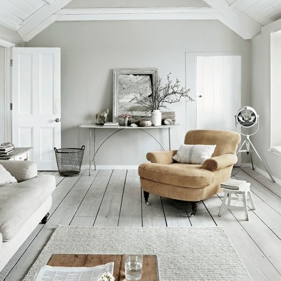 Whitewashed living room | Modern living room ideas | Living room | PHOTO GALLERY | Livingetc | Housetohome.co.uk
