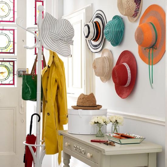 Storage decorating ideas for Hat storage ideas