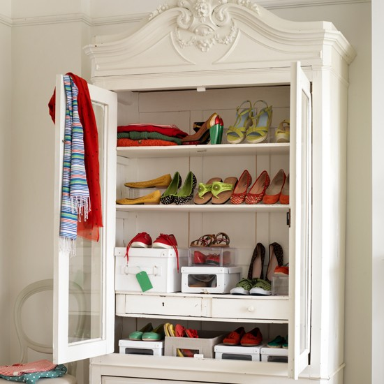 Shoe Storage Decorating Ideas Housetohomecouk