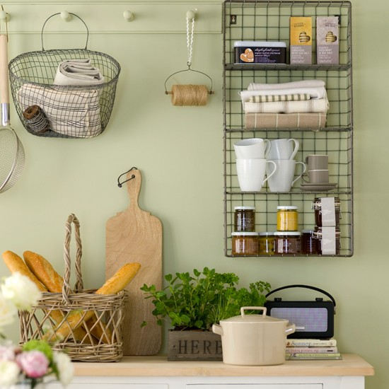 Wire Shelving Kitchen Storage Ideas