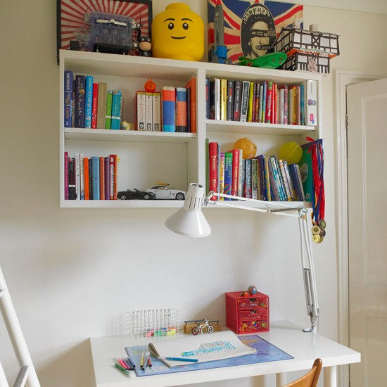 Children's home office | Traditional decorating ideas | Ideal Home | Housetohome