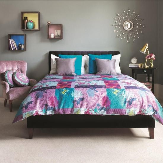 Yoko double duvet cover from John Lewis | Modern patchwork bedroom | PHOTO GALLERY | Housetohome.co.uk