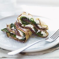 Crespolini Pancakes with Spinach and Ricotta