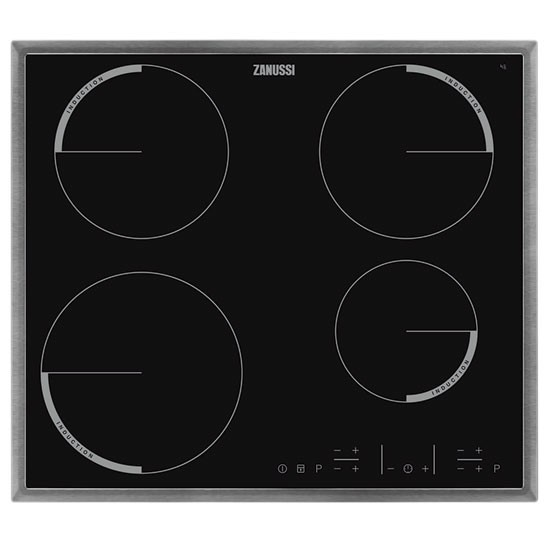 quadro zei6640xba induction hob from zanussi electric. Black Bedroom Furniture Sets. Home Design Ideas