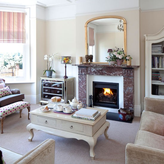Living Room Step Inside A Bold And Striking Period Home