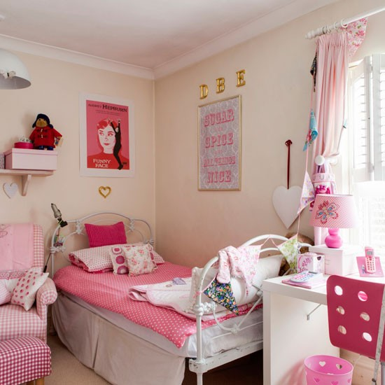 Multifunctional bedroom | Girls' bedroom ideas | Childrens' bedrooms | bedroom | PHOTO GALLERY | 25 Beautiful Homes | Housetohome.co.uk