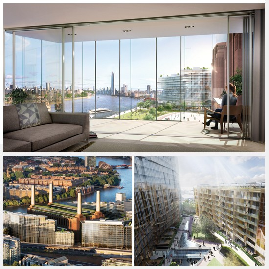 A little slice of Art Deco history: Battersea Power Station's luxury flats will come with amazing views as standard
