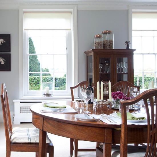 Classic dining room | Traditional dining rooms | PHOTO GALLERY | Housetohome.co.uk
