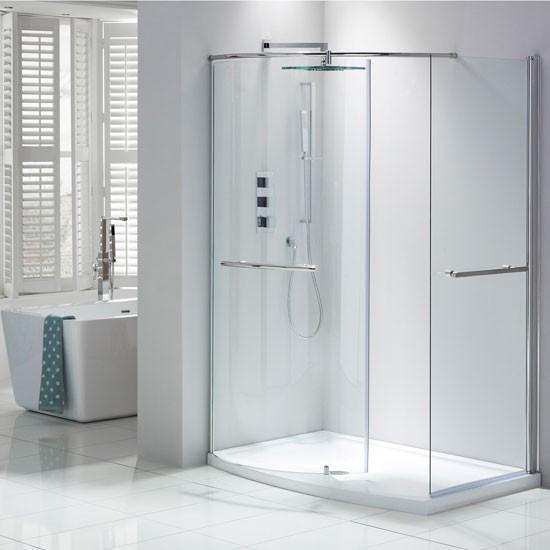 Closing walk in shower enclosure from frontline bathrooms bathroom