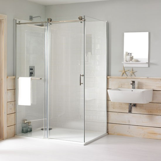 Eclipse rectangular shower enclosure by cooke lewis from b q for B q bathroom accessories