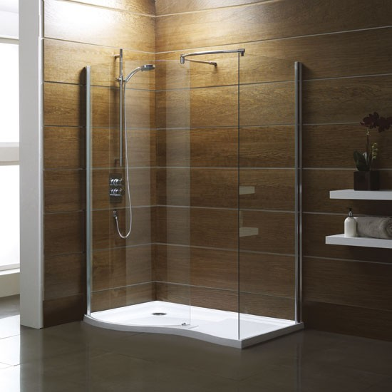 Curved Walk-In shower pack from Victoria Plumb  Bathroom  PHOTO ...