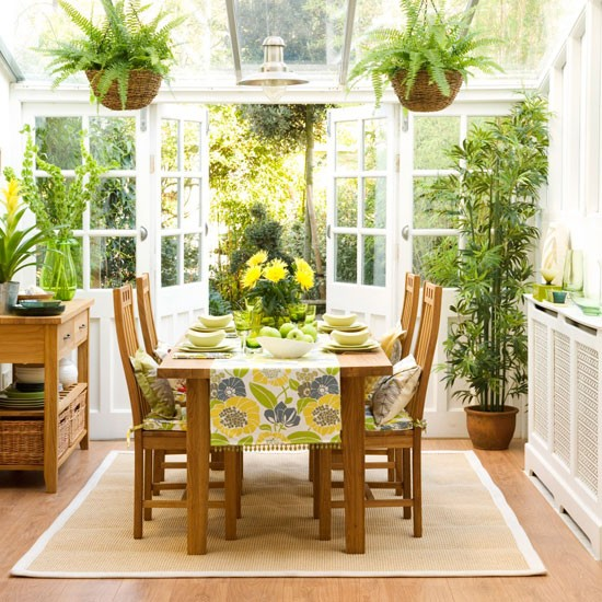 Fresh Green Dining Room Traditional Dining Room Ideas Housetohome
