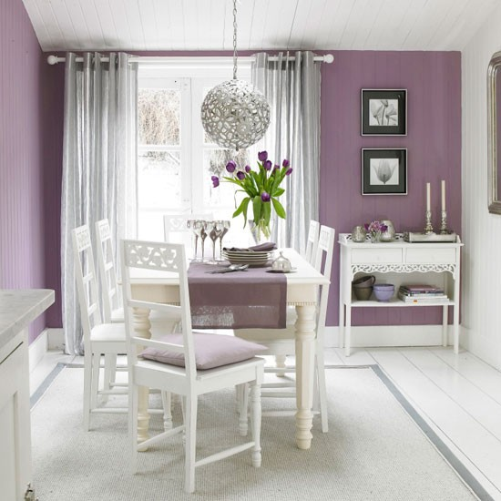Brilliant Purple and Silver Dining Room 550 x 550 · 68 kB · jpeg