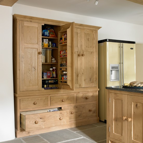 bespoke kitchen larder cupboard kitchen designs country