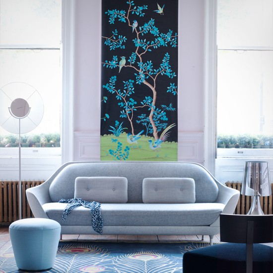 Living room wall art Decorating ideas to energise your