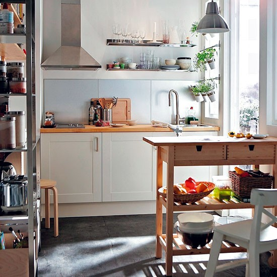 Compact Shaker kitchen from Ikea | Shaker-style kitchen units