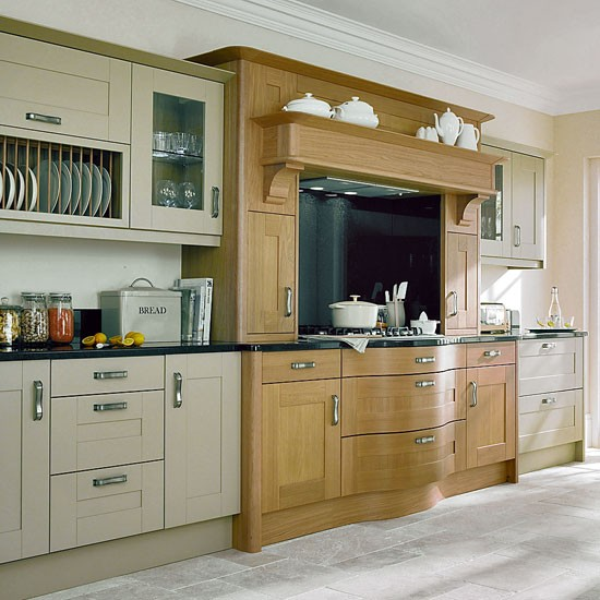 Broadoak painted kitchen from second nature shaker style for Shaker style kitchen uk