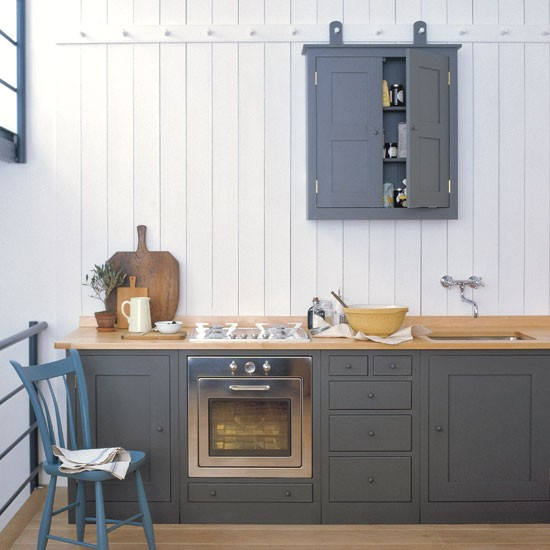 Williamsburg Kitchen From Plain English Shaker style