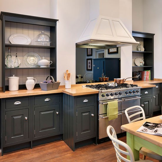 John Lewis Kitchen Worktops: Updated Country Kitchen
