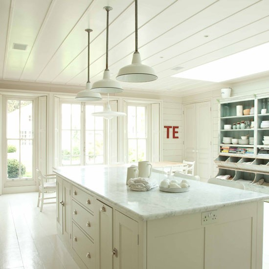 All white country kitchen country kitchen ideas All white kitchen ideas