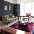 Take a tour around a dramatic and contemporary town house in north London