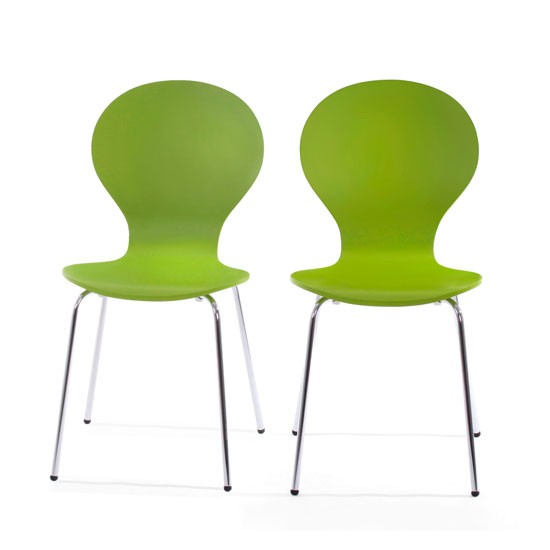 Kitsch dining chairs x 2 from Made