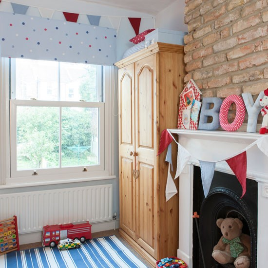Boy 39 s room be inspired by this victorian terrace for Boys bedroom ideas uk