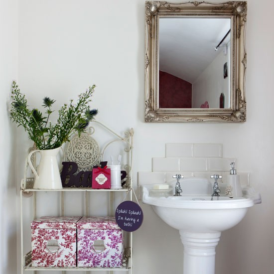 Bathroom basin | Be inspired by this Victorian terrace | House tour | PHOTO GALLERY | Ideal Home | Housetohome.co.uk
