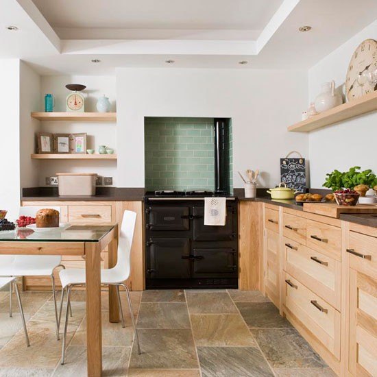 Step Inside A Coastal Kitchen Filled With Natural Materials