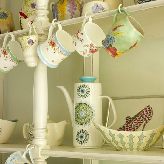 Pretty kitchen display shelving ideas - Kitchen shelf display ideas ...