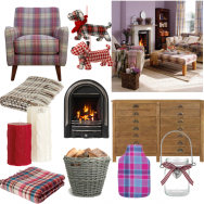 Cosy 'Burns Night' living room