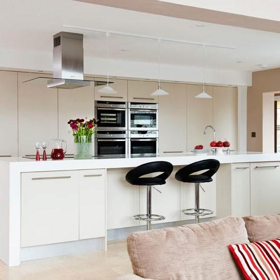 Open Plan Kitchen Design Tips: Take A Tour Around An Open-plan Family Kitchen