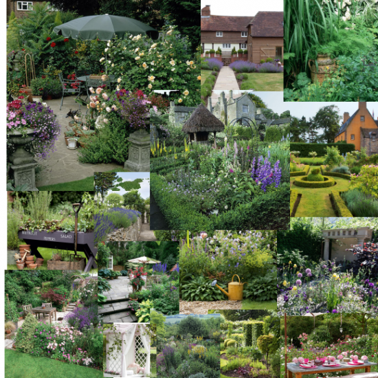 Garden Design Mood Board my garden ideas - native garden design