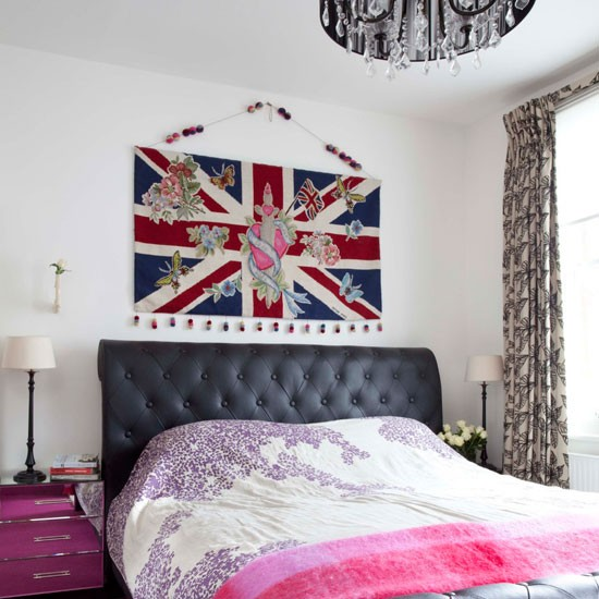 Union jack bedroom modern bedrooms for Union jack bedroom ideas
