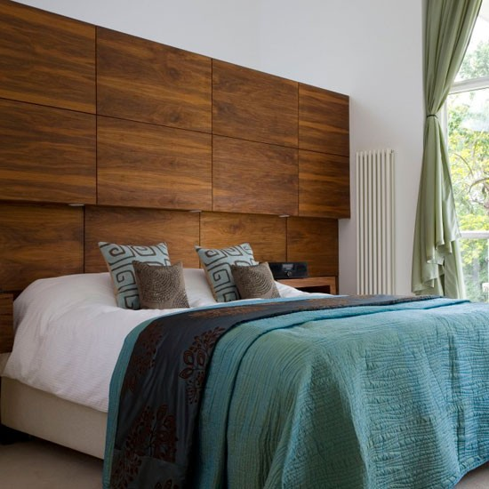 Feature Headboard Modern Bedrooms Housetohome Co Uk