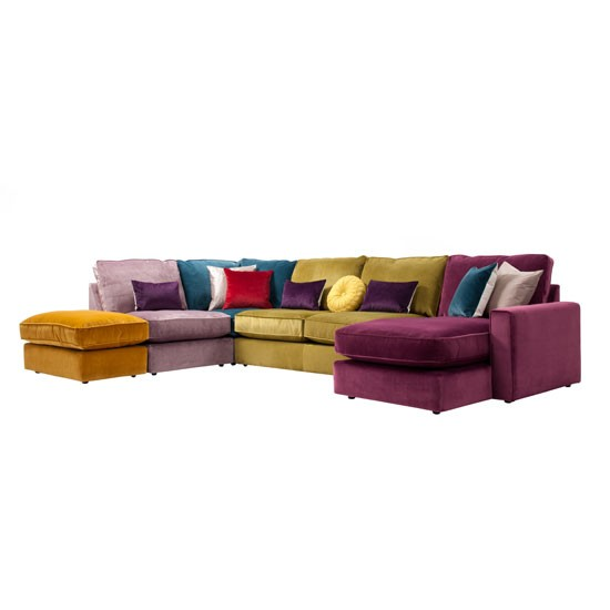 Ashley manor harlequin sofa from furniture village for Furniture village sofa