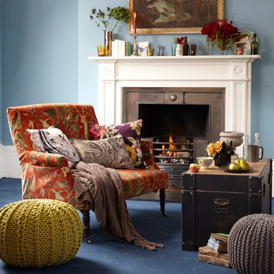 Eclectic living room   Family living room ideas - 10 of the best   Living room   PHOTO GALLERY   Country Homes & Interiors   Housetohome.co.uk