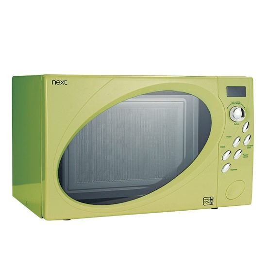 Lime Microwave From Next Microwaves 10 Of The Best