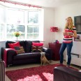 Take a tour round Caroline's colourful modern home
