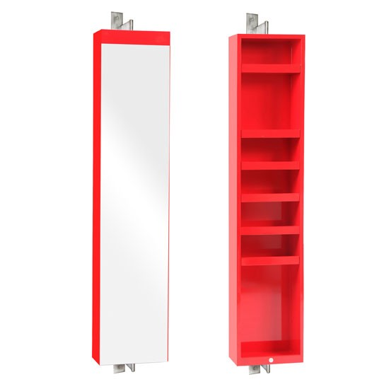 Red Mount Fuji Revolve Cabinet From Heal's
