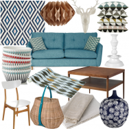 Scandi chic living room