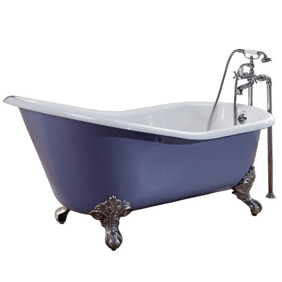 Cambridge slipper bath from CP Hart | Roll-top baths - 10 of the best | Bathroom | PHOTO GALLERY | Country Homes & Interiors | Housetohome.co.uk