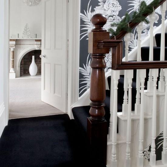 Monochrome Hallway Small Hallways