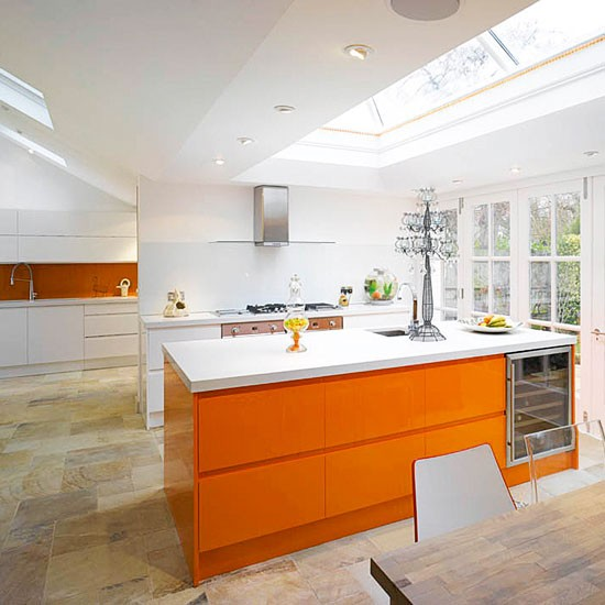 Kitchen extensions for Orangery kitchen