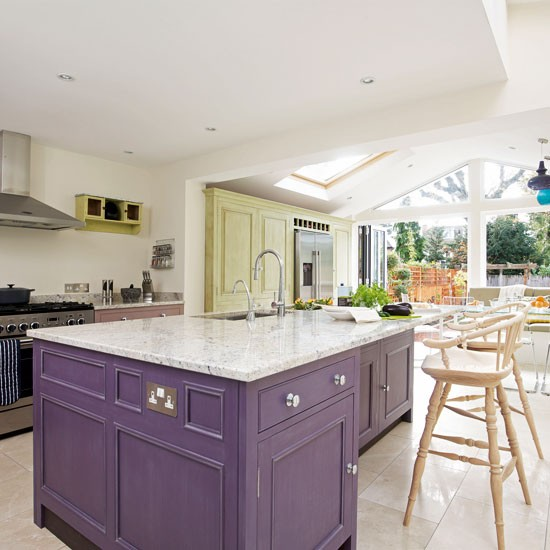 Zoned kitchen extension kitchen extensions housetohome for Extension to kitchen ideas